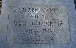Margaret <i>Carter</i> Cook