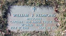 William J Redmond