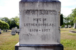 Sophia B. <i>Brown</i> Douglass