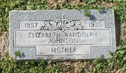 Elizabeth <i>Randolph</i> Johnson