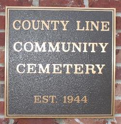 County Line Community Cemetery