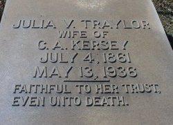 Julia V. <i>Traylor</i> Kersey