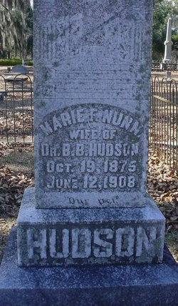 Marie F. <i>Nunn</i> Hudson