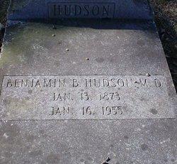 Dr Benjamin B. Hudson