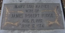 Mary Lou <i>Rainey</i> Fudge