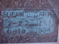 Susan <i>Jackson</i> Carr