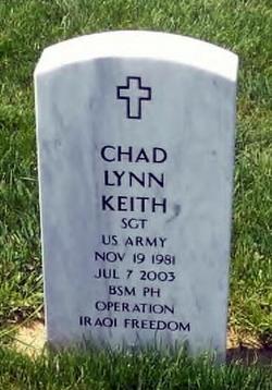 Sgt Chad Lynn Keith