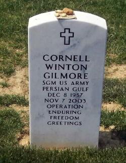 Sgt Cornell Winston Gilmore