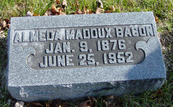 Almeda <i>Maddux</i> Bacon