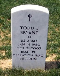 Lieut Todd J. Bryant