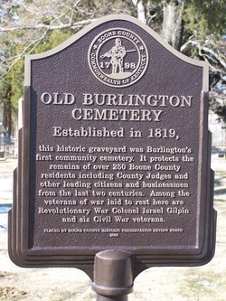Old Burlington Cemetery