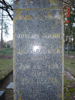 Joeline <i>Palmer</i> Mann