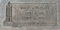 Alexander McDaniel Mack Applegate
