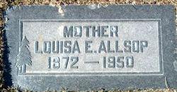 Louisa Maria <i>Egbert</i> Allsop
