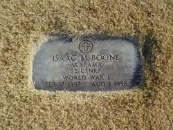 Isaac Morgan Ike Boone