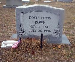 Doyle Edwin Rowe