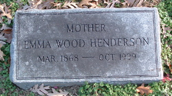Emma <i>Wood</i> Henderson