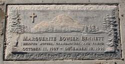 Marguerite <i>Bowser</i> Bennett