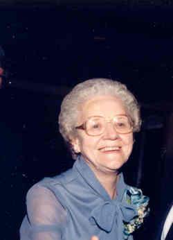 Gladys <i>Barrable</i> Van Driesen