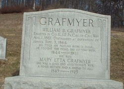 Mary <i>Etta</i> Grafmyer