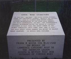 Civil War Cemetery