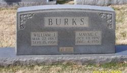 Mayme C <i>Turner</i> Burks