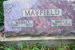 Mary Elzena <i>Goodrich</i> Mayfield