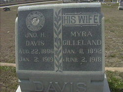Myra <i>Gilleland</i> Davis