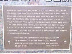 Saint Martin Evangelical Lutheran Cemetery
