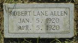 Robert Lane Allen