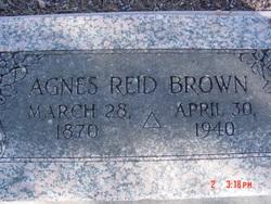 Agnes <i>Reid</i> Brown