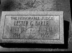 Lester Gatch Baker