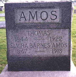 Elvira Elma <i>Barnes</i> Amos