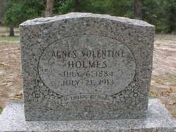 Agnes <i>Volentine</i> Holmes