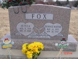 Dennis Wayne Fox