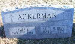 Alice M. <i>Hope</i> Ackerman