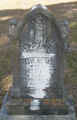 Sallie Eugenia <i>Spann</i> Cavett