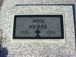 Frank Hribar, Sr