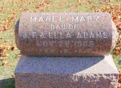 Mable Mary Adams