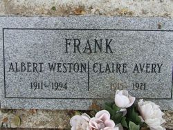 Albert Weston Frank