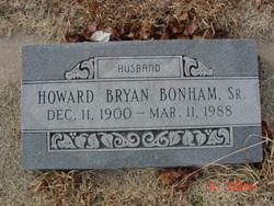 Howard Bryan Bonham, Sr