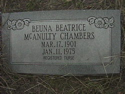 Beuna Beatrice <i>McAnulty</i> Chambers