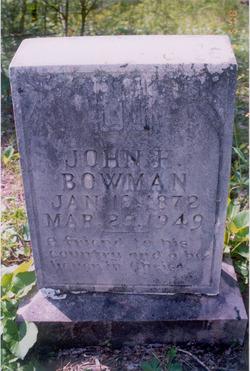 John Harlan Bowman, Sr