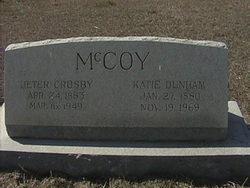 Katie <i>Dunham</i> McCoy