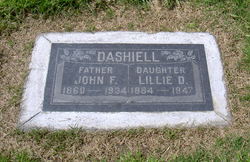 John F Dashiell