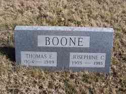 Josephine <i>Coomes</i> Boone