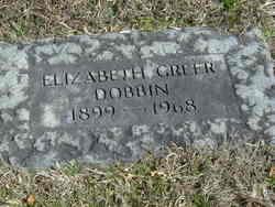 Elizabeth <i>Greer</i> Dobbin