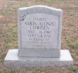 Amon Alonzo Cowden