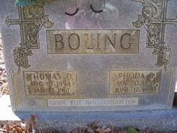 Rhoda Amanda <i>Brooks</i> Boling