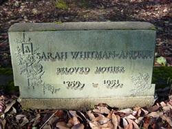 Sarah Melissa <i>Whitman</i> Andrus